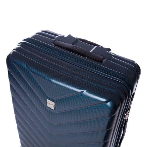 Troler Ella Icon Armor, Albastru, 77x52x30 cm, 120L, 4 roti spinner