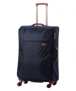 Troler Ella Icon Atena, Albastru, 77x46x31 cm, 110 L, 4 roti