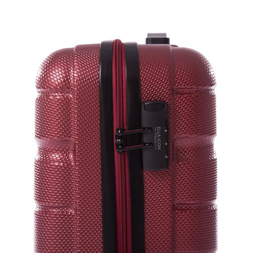 Troler Ella Icon Brick Rosu 55x41x22 cm, 48 L, 4 roti spinner
