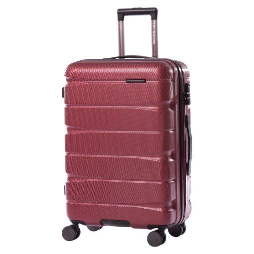 Troler Ella Icon Brick Rosu 66x44x25 cm, 78 L, 4 roti spinner