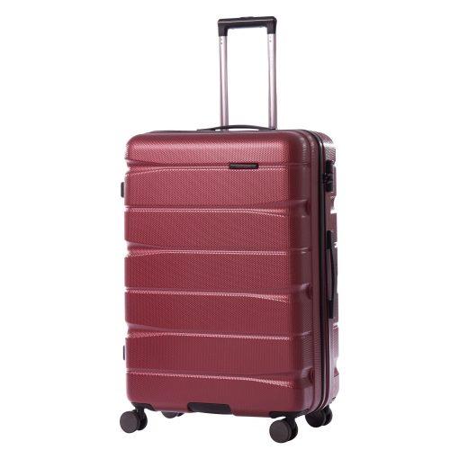 Troler Ella Icon Brick Rosu, 76x51x29 cm, 115 L, 4 roti spinner
